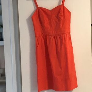 Shoshanna coral dress